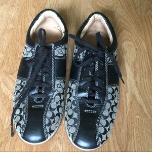 Coach Signature C's Lace Up Runner Shoes